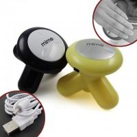 Pieni hierontalaite, jolla pääset eroon kipeistä hartioista. Voit käyttää laitetta USB -kaapelin kautta. Laite toimii myös kolmella AAA -paristolla. Paljon värivaihtoehtoja!