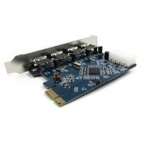 USB 3.0 PCI  4x USB 3.0 ports for desktop