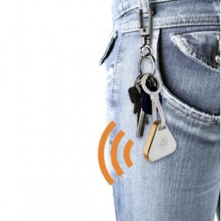 Kännykän hälytin - Bluetooth yhteensopiva - Hopea