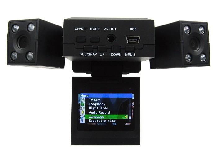 Dubbel trafikkamera