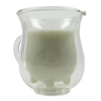 Design glass  Cream jug