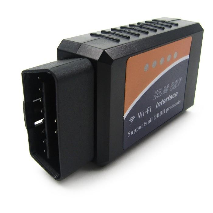 OBD-II ELM327 felkodsläsare via WiFi