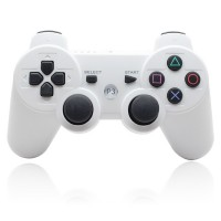 Langaton ohjain PlayStation 3 konsolille loistavalla akkukestolla. Mainio valinta vioittuneen PS3 ohjaimen tilalle tai monipelejä varten. Tähän hintaan et laadukkaampaa ohjainta löydä! ✔ Erinomainen hinta-laatusuhde. ✔ TAX FREE! Säästä 24%.  ✔ 30vrk palautusoikeus.