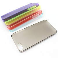 Colorful transparent case for iPhone5