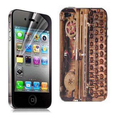 Mobile stickers - Kännykkätarra kirjoituskone
