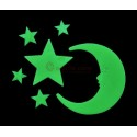 Glow in the dark stickers | Moon and Stars