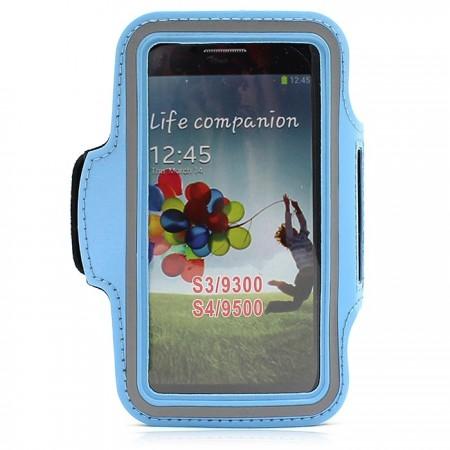 Samsung S3 käsivarsikotelo - Sininen