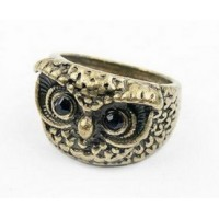 Owl Head  Ring