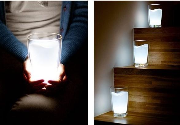 Milk glass LED-lamp | Maitolasi -lamppu