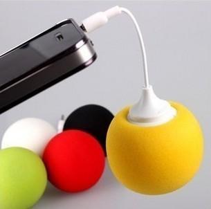 Kännykän Balloon minikaiutin - Musta