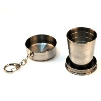 Mini retractable cup  Stainless Steel