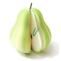 Fruit Memo Pad  Pear