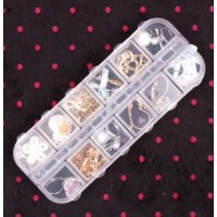 You can use it for storing a variety of items, like screws, nuts and washers, fishing tackle, beads, gems.