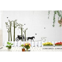 Removable wall stickers  Jungle buggy