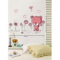 Removable wall stickers  Cartoon Bear