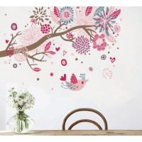 Removable wall stickers  Bohemia Tree