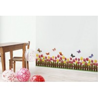 Removable wall stickers  Tulip