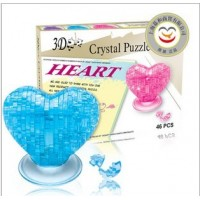 3D Crystal Puzzle  Heart