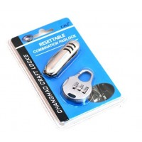 Traveler Set  Padlock with Pocket Knife