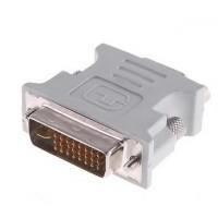 Tällä näppärällä adapterilla viet signaalin VGA portista DVI porttiin helposti.