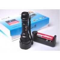 Ultrafire rechargeable flashlight
