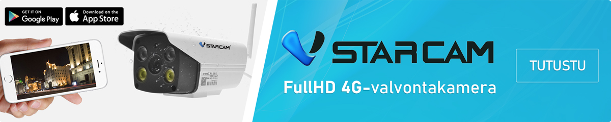 Vstarcam 4G Wifi-valvontakamera ulkokäyttöön
