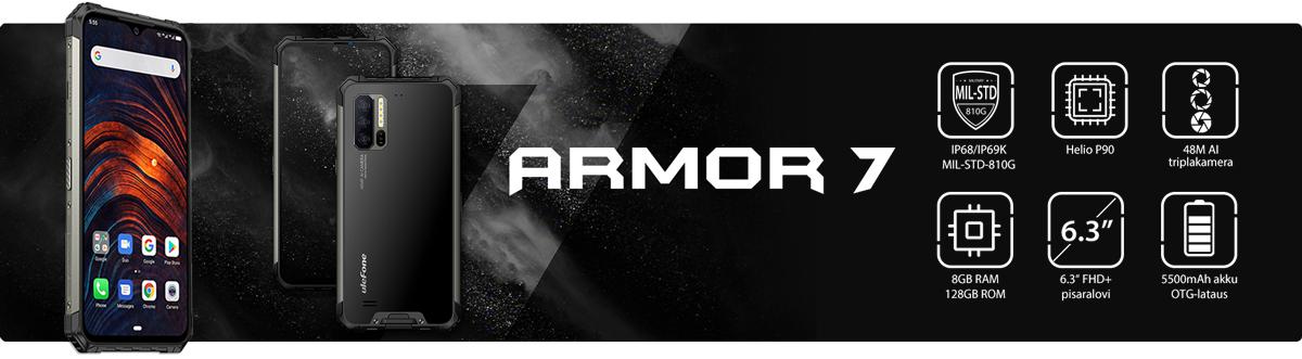 Ulefone Armor 7 IP68-puhelin