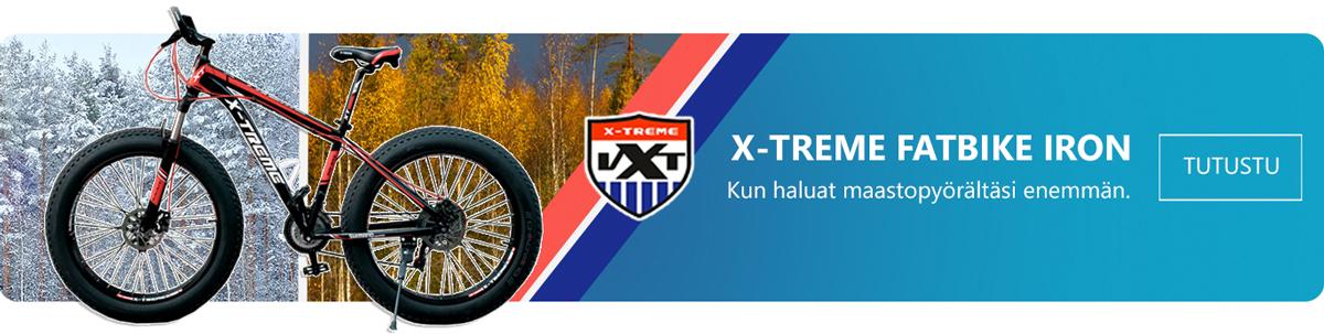X-TREME IRON Fatbike