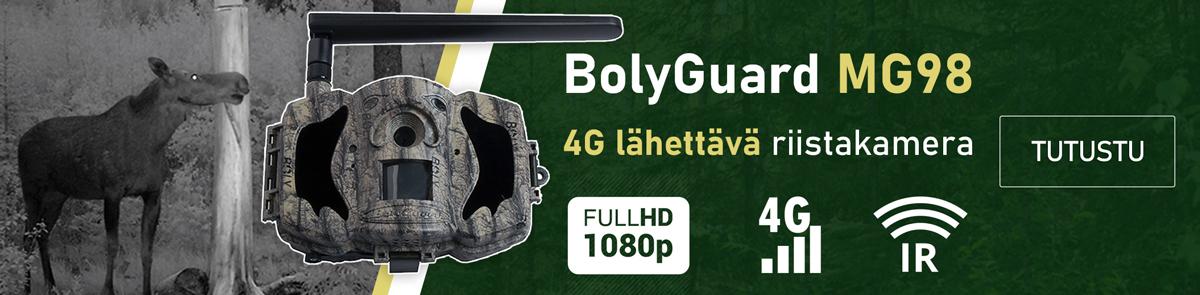 BolyGuard MG98 4G lähettävä riistakamera