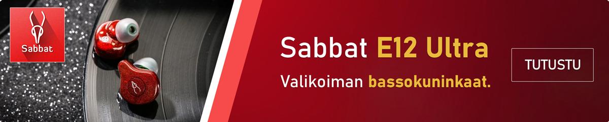 Sabbat E12 Ultra täysin langattomat kuulookeet